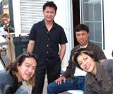 Vợ chồng ca sĩ Thu Phương - Huy MC cùng Bằng Kiều, Tuấn Ngọc tại Mỹ.