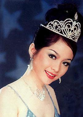 Hoa hậu Việt Nam 1996 Nguyễn Thiên Nga. Ảnh: Người Đẹp.