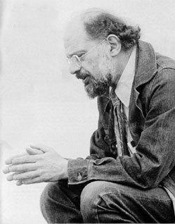 Nhà thơ Allen Ginsberg.