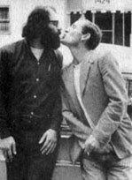 Allen Ginsberg và Neal Cassady.