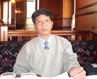 Nhà văn Nguyễn Huy Thiệp.