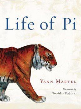 Trang bìa cuốn 'Life of Pi'.