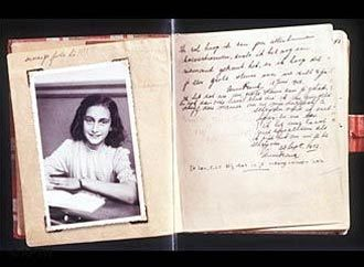 Cuốn nhật ký của Anne.