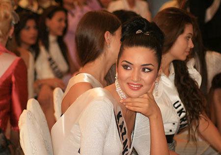 Miss Kazakhstan.