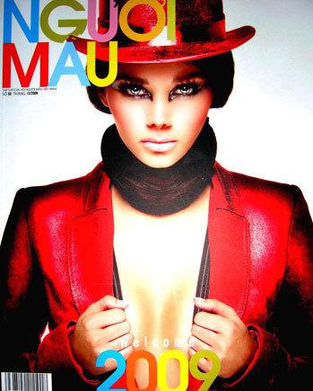 Trang bìa tạp chí Người Mẫu số ra ngày 5/12 đăng tải bức thư bạn đọc về Giải thưởng Người mẫu Việt Nam. Ảnh: Tạp chí Người Mẫu.
