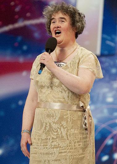 Giọng ca Susan Boyle. Ảnh: Mail.