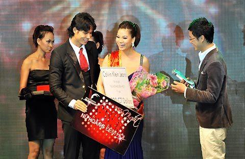 Trương Ngọc Ánh - Nữ hoàng khách mời tham dự trong đêm.