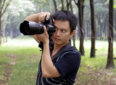Nhà thiết kế kiêm nhiếp ảnh Ngô Nhật Huy.