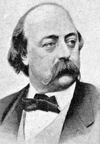 Nhà văn Gustave Flaubert.