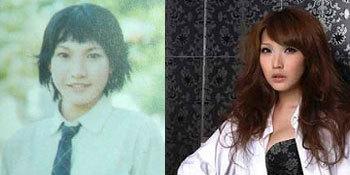 Alicia Liu trước và sau khi phẫu thuật chuyển giới. Ảnh: Dailychilli.