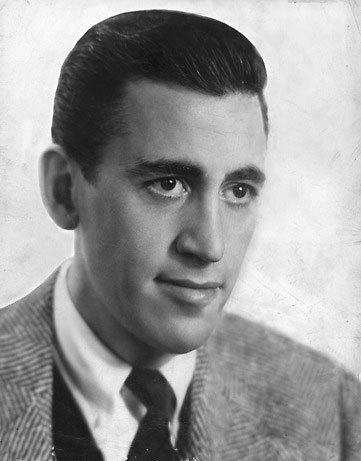 Nhà văn J. D. Salinger.