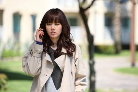Han Ga In trong một cảnh phim.
