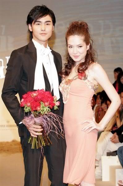 Kinh Thiên và bạn gái hiện tại - Hứa Vỹ Ninh. Ảnh: Sina.