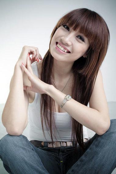 Ca sĩ, diễn viên Pha Lê cũng tìm cơ hội ở cuộc thi này. Ảnh: VFC.