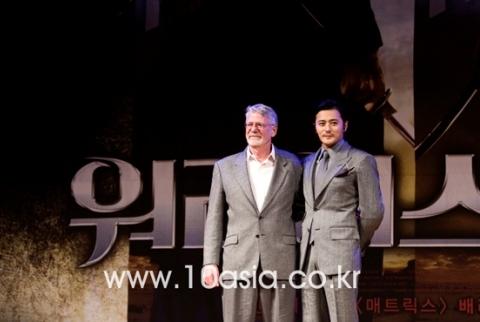 Jang Dong Gun và nhà sản xuất