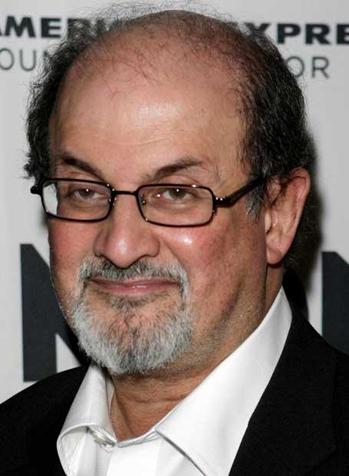 Nhà văn Salman Rushdie.