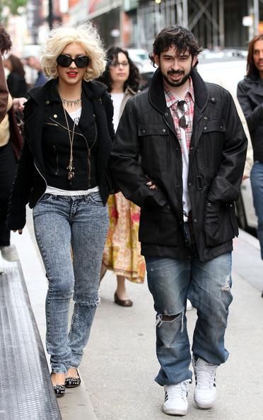 Christina và chồng Jordan Bratman. Ảnh: BA.
