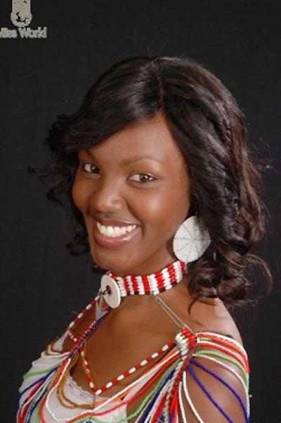 Miss Kenya là người đẹp cuối cùng vào thẳng bán kết nhờ phần thi phụ tại Miss Word 2010.