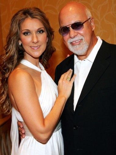 Celine và Rene Angelil