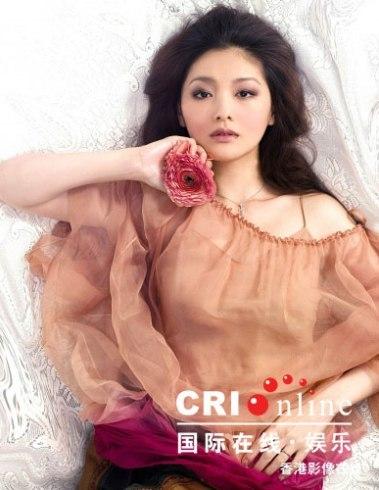 Nữ diễn viên Từ Hy Viên. Ảnh:cri.