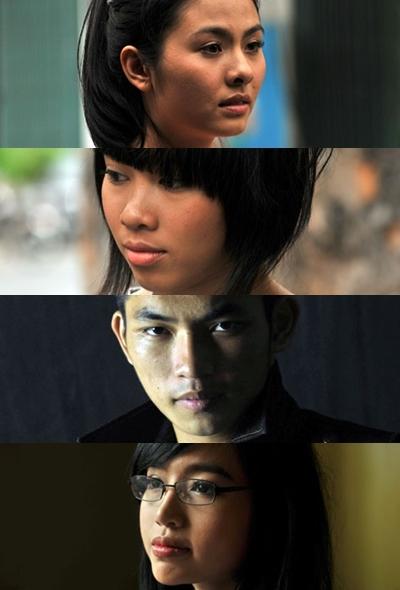 Dàn diễn viên trẻ tham gia 'Saigon Yo'.