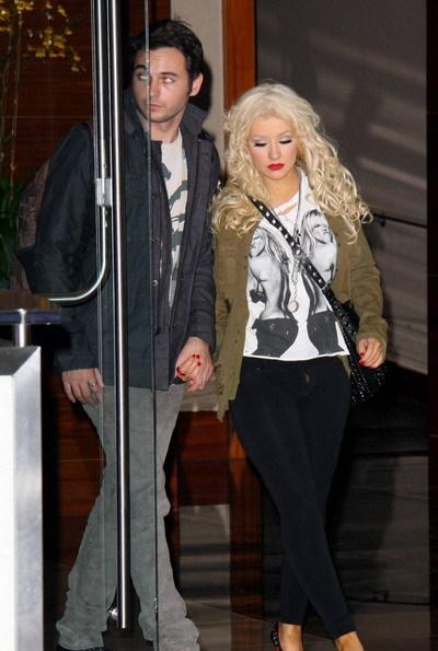 Christina bên bạn trai mới Matt Rutler. Ảnh: Mavrix.