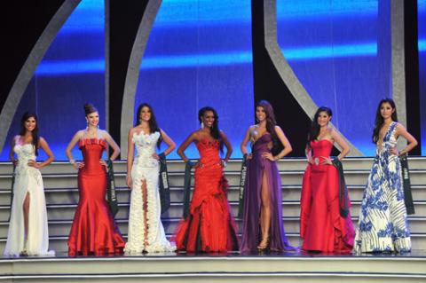 Top 7 cô gái đẹp nhất cuộc thi.