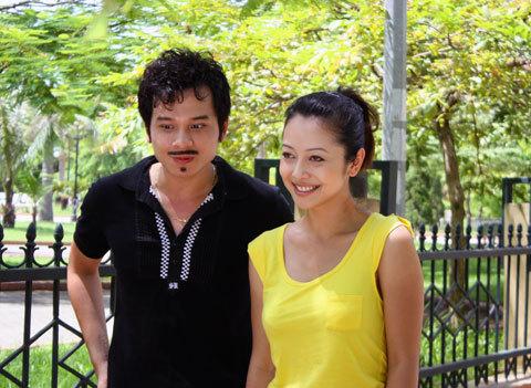 Jennifer Phạm và Danh Tùng trong vai cặp tình nhân của