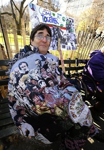 Một fan cuồng nhiệt của The Beatles.