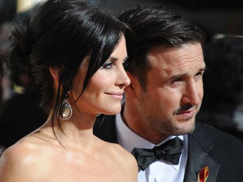 Courtney Cox và David Arquette. Ảnh: AFP.