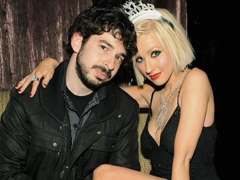 Jordan Bratman và Christina Aguilera. Ảnh: iVillage.