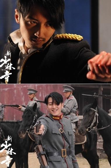 Tạ Đình Phong trong vai viên tướng độc án Tào Man. Ảnh: baidu.