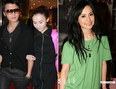 Vợ chồng Trương Bá Chi - Tạ Đình Phong và Chung Hân Đồng.