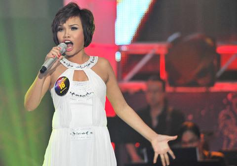 Mỹ Như có nhiều hy vọng thắng giải ở Sao Mai Điểm Hẹn 2010. Ảnh: Lý Võ Phú Hưng.