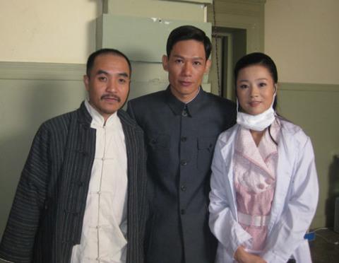 Ba diễn viên chính trong 'Vượt qua bến Thượng Hải'.