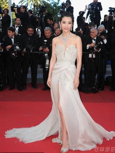 Diễn viên Trung Quốc Lý Băng Băng (Li Bingbing).