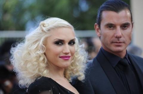 Ca sĩ Gwen Stefani và chồng Gavin Rossdale.