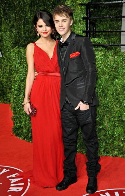 Selena Gomez và Justin Bieber đã công khai tình cảm từ hồi đầu năm nay. Ảnh: WEN.