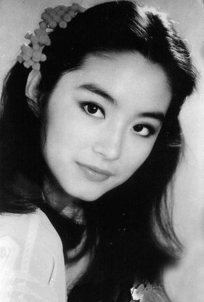 Đại mỹ nhân Hong Kong trong thời đầu đóng phim.