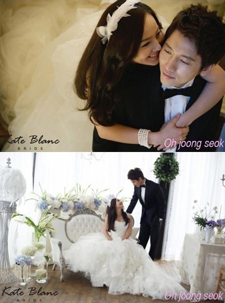 Ảnh cưới của Eugene và Ki Tae Young.