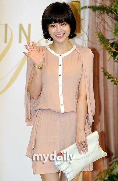 Nữ diễn viên Lee Young Ah.
