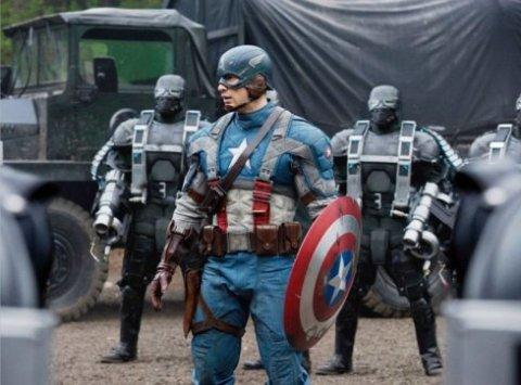 Captain America là một trong những siêu anh hùng nổi tiếng nhất của Marvel. Ảnh: Paramount.