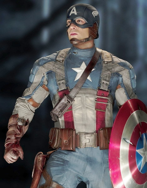 Captain America là một trong những siêu anh hùng của siêu bom tấn 'The Avengers' ra mắt mùa hè năm sau. Ảnh: Paramount.