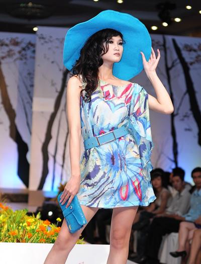 Người mẫu Kha Mỹ Vân.
