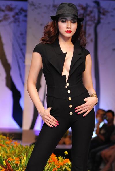 Người mẫu Trang Nhung.