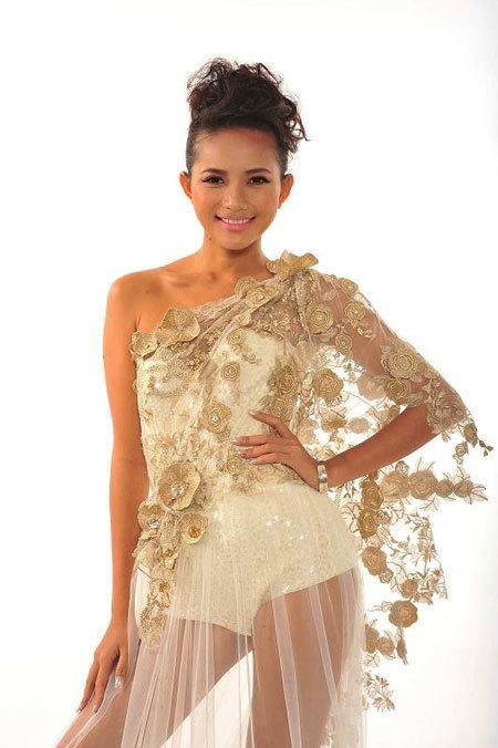 Năm 2008, cô thi Siêu mẫu và lọt vào top 5, giành giải Người mẫu triển vọng và Siêu mẫu có phong cách trình diễn đẹp nhất.