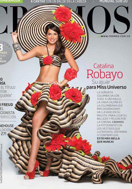 Hoa hậu Colombia.