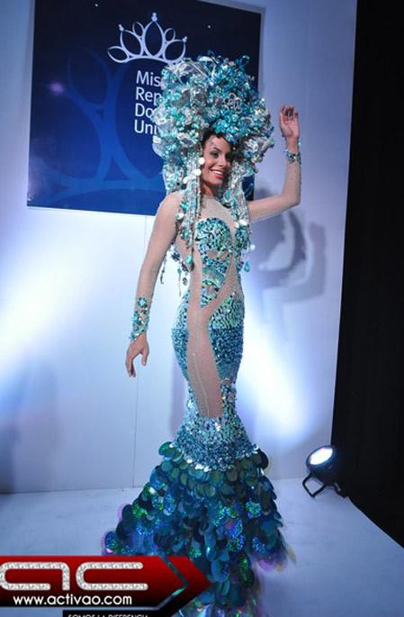 Hoa hậu CH Dominica.