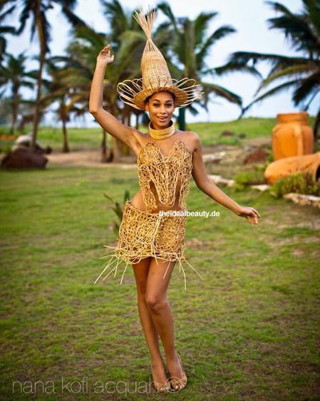Hoa hậu Ghana.