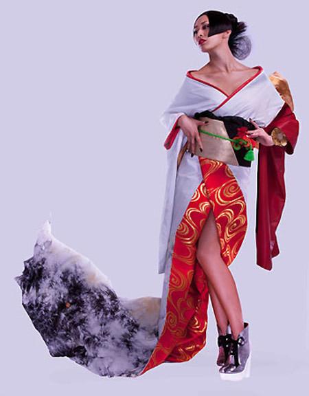 Hoa hậu Nhật.